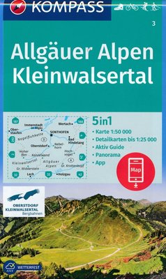 Kompass - WK 3 Allgäuer Alpen - Kleinwalsertal