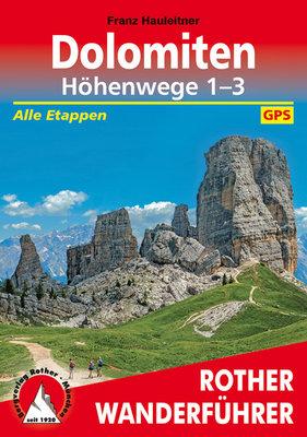 Rother - Dolomiten Höhenwege 1-3