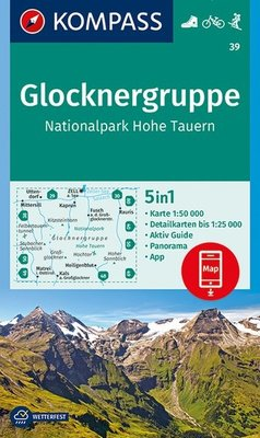Kompass - WK 39 Glocknergruppe - Nationalpark Hohe Tauern