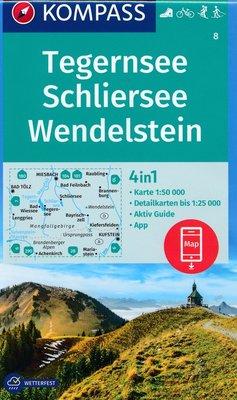 Kompass - WK 8 Tegernsee - Schliersee - Wendelstein