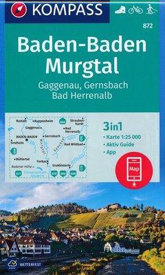 Kompass - WK 872 Baden-Baden - Murgtal