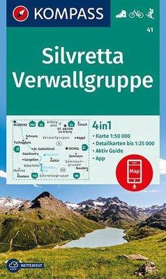 Kompass - WK 41 Silvretta - Verwallgruppe