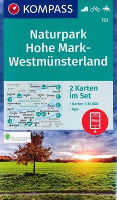 Kompass - WK 753 Naturpark Hohe Mark
