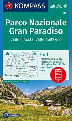 Kompass - WK 86 Gran Paradiso - Valle d'Aosta