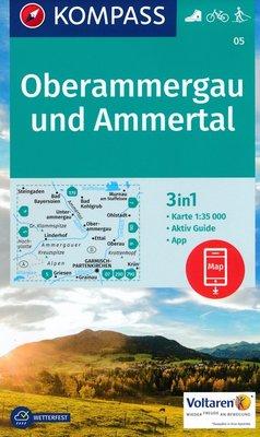 Kompass - WK 05 Oberammergau und Ammertal