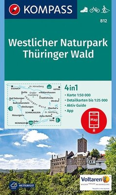 Kompass - WK 812 Westlicher Naturpark Thüringer Wald