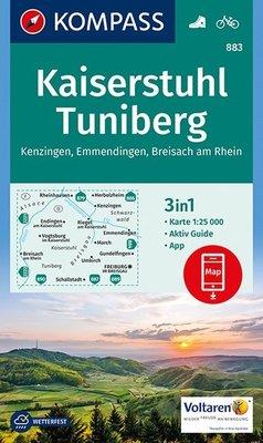 Kompass - WK 883 Kaiserstuhl - Tuniberg