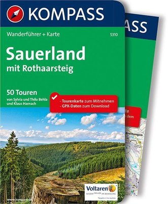 Kompass - Sauerland - Rothaarsteig wf