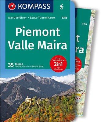 Kompass - Piemont - Valle Maira wf