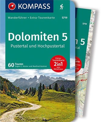 Kompass - Dolomiten 5 - Pustertal wf