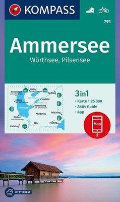 Kompass - WK 791 Ammersee - Wörthsee - Pilsensee