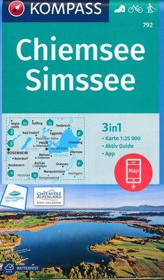 Kompass - WK 792 Chiemsee - Simssee