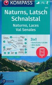Kompass - WK 051 Naturns - Latsch - Schnalstal