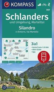 Kompass - WK 069 Schlanders und Umgebung - Martelltal