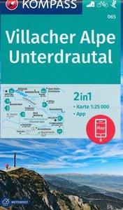 Kompass - WK 065 Villacher Alpe - Unterdrautal