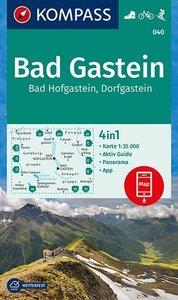 Kompass - WK 040 Bad Gastein - Bad Hofgastein - Dorfgastein