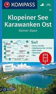 Kompass - WK 65 Klopeiner See - Karawanken Ost