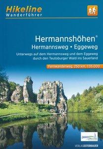 Hikeline - Hermannshöhen - Hermannsweg + Eggeweg