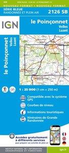 IGN - 2126SB Le Poinconnet - Velles - Luant