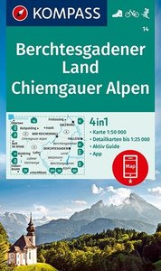 Kompass - WK 14 Berchtesgadener Land - Chiemgauer Alpen