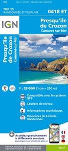 IGN - 0418ET Camaret - Presq'Île de Crozon