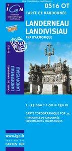 IGN - 0516OT Landerneau - Landivisiau