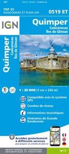 IGN - 0519ET Quimper - Concarneau