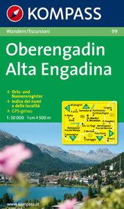 Kompass - WK 99 Oberengadin - Alta Engadina