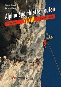 Rother - Alpine Sportkletterrouten VI-VIII