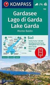 Kompass - WK 102 Lago di Garda - Monte Baldo 2010