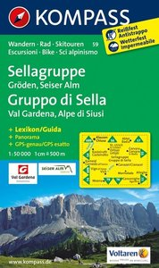 Kompass - WK 59 Sella - Val Gardena - Seiser Alm