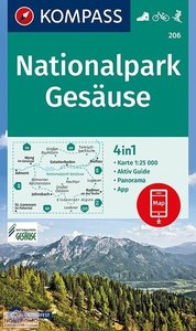 Kompass - WK 206 Nationalpark Gesäuse