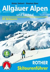 Rother - Skitourenführer Allgäuer Alpen