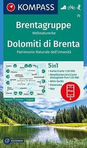 Kompass - WK 73 Dolomiti di Brenta