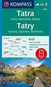 Kompass - WK 2100 Hohe Tatra