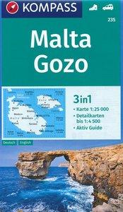 Kompass - WK 235 Malta - Gozo