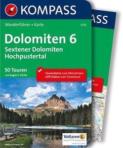 Kompass - Dolomiten 6 - Sextener Dolomiten wf