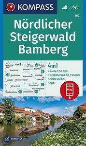 Kompass - WK 167 Nördlicher Steigerwald - Bamberg